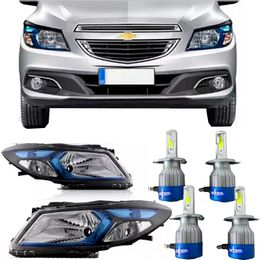 Par-Farol-Gm-Onix-e-Prisma-2013-a-2016-Azul-Original-Mais-Kit-Lampadas-Super-Led