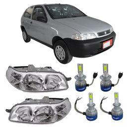 Par-Farol-Original-Fiat-Palio-2001-a-2003--Mais-Lampadas-Super-Led