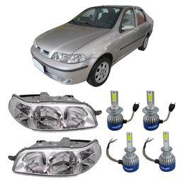 Par-Farol-Original-Fiat-Siena-2001-a-2003--Mais-Lampadas-Super-Led