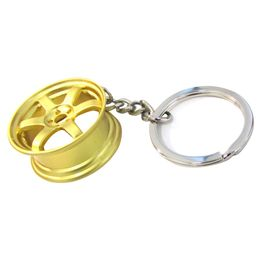 Chaveiro-Roda-Te37-Dourada