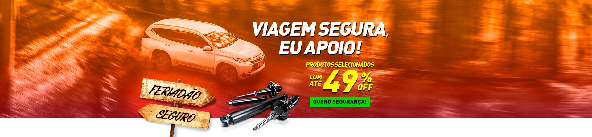 VIAGEM SEGURA - AMORTECEDOR PC