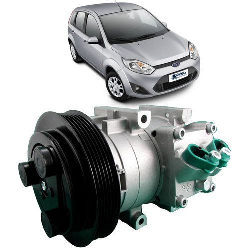 Compressor-Delphi-Ford-Fiesta-1.0-e-1.6-8V-Flex-2004-A-2012