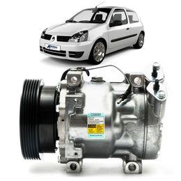 Compressor-Delphi-Renault-Clio-1.6-16V-1999-a-2009-Gasolina
