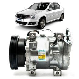 Compressor-Delphi-Renault-Logan-1.6-16V-2007-a-2011-Flex
