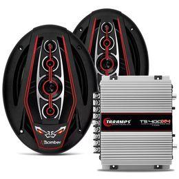 kit-amplificador-ts-400x4--par-alto-falantes-bicho-papao-6x9-350w-rms