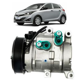 Compressor-Delphi-Hyundai-HB20-1.6-2011-em-Diante