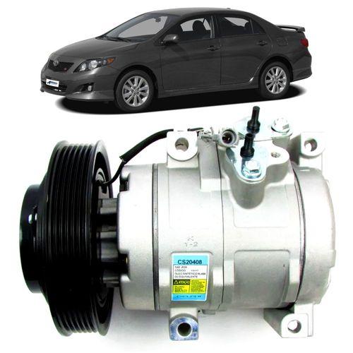 Compressor-Delphi-Toyota-Corolla-1.8L-16V-Flex-2008-a-2009