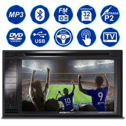 central-multimidia-positron-sp8730-dtv-2-din-6-2-pol-touch-tv-usb-espelhamento-cd-dvd-bluetooth-mp3