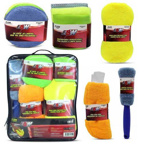 Kit-Limpeza-Automotiva-Sw-Jogo-9-Itens-Microfibra