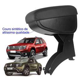 apoio-de-braco-renault-duster-e-oroch-encaixe-freio-de-mao-com-couro-sintetico-preto-e-com-linha-pre