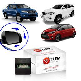 Modulo-Retrovisores-Eletricos-Tury-Toyota-Hilux-SW4-partir-de-2016-Yaris-partir-de-2018