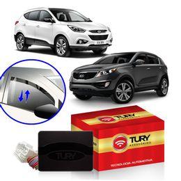 Modulo-Vidro-Eletrico-Antiesmagamento-Tury-para-4-Vidros-Hyundai-iX35-Kia-Sportage