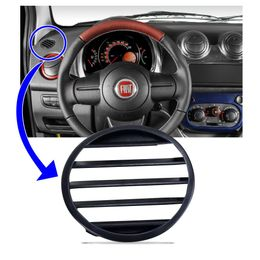 Moldura-Difusor-Ar-Painel-Lado-Motorista-Fiat-Mobi-Novo-Fiorino-Uno-Palio