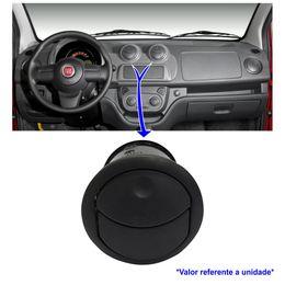 Difusor-Saida-Ar-Central-Fiat-Uno-2011-a-2014