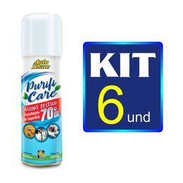 kit-6-alcool-70-spray-300ml-purifi-care-autoshine