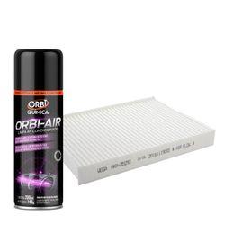 Kit-Higienizador---Filtro-de-Cabine-Wega-Fiat-Doblo-2001-em-Diante-Idea-2005-em-Diante
