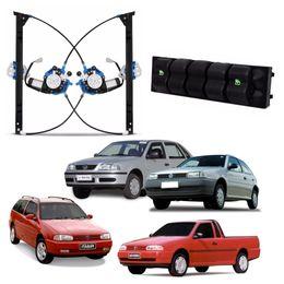 Kit-Vidro-Eletrico-Tragial-Vw-Gol-Parati-Saveiro-G2-4-portas