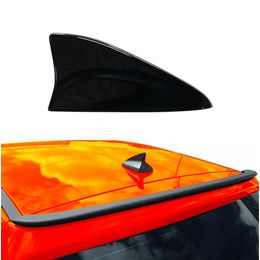 Antena-de-Teto-tubarao-Shark-Permak-Preta