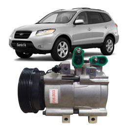 Compressor-delphi-Hyundai-Santa-Fe-2-0-2001-a-2009