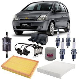 kit-revisao-gm-meriva-1-4-8v-flex-2009-a-2012-ar-combustivel-vela-bobina