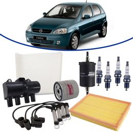 kit-revisao-gm-corsa-1-4-flex-2002-a-2009-filtro-de-oleo-ar-combustivel-cabine-vela-cabo-bobina