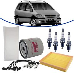 kit-revisao-gm-zafira-2-0-8v-flexpower-2004-a-2008-filtro-de-oleo-ar-combustivel-cabine-vela-cabo