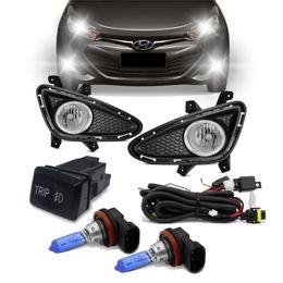 Kit-Farol-Auxiliar-HB20-HB20S-2012-a-2020-Par-de-Lampada-Tech-One-Super-Branca-H8-35W-12V