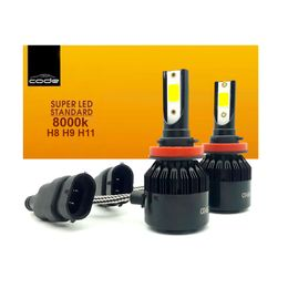 Kit-Super-Led-Code-Multi-Encaixe-h8-H9-H11-8000k-Tech-One