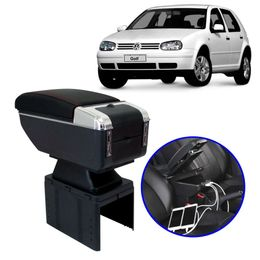 Console-Apoio-de-Braco-Golf-2001-a-2006-Preto-com-Vermelha-USB