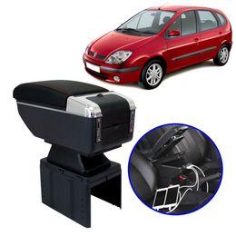 Console-Apoio-de-Braco-Renault-Senic-2000-a-2002-Preto-com-Vermelha-USB